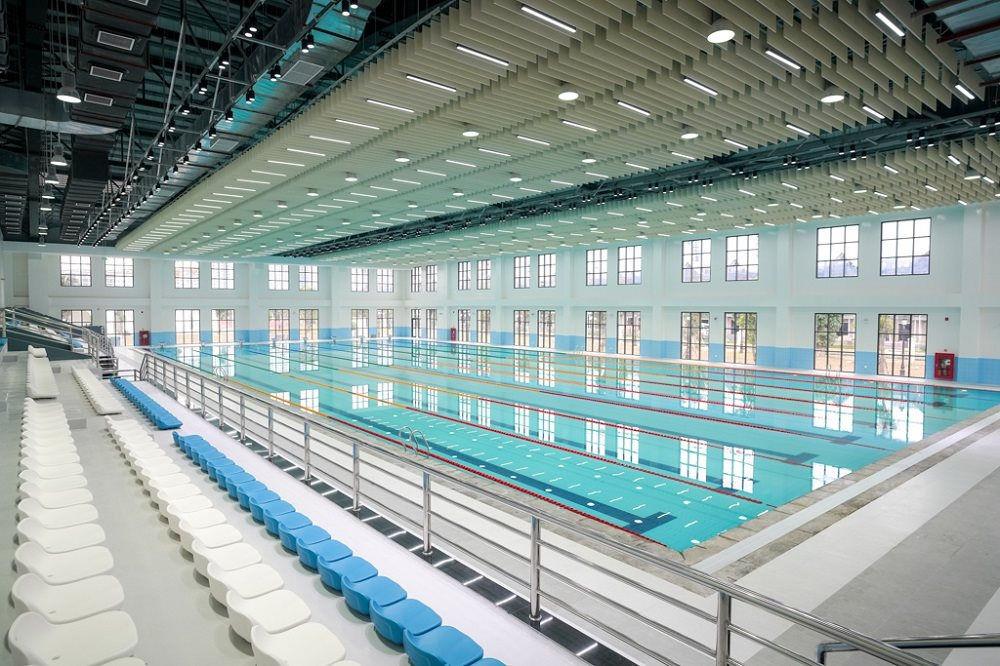 Bể bơi trong nhà chuẩn Olympic