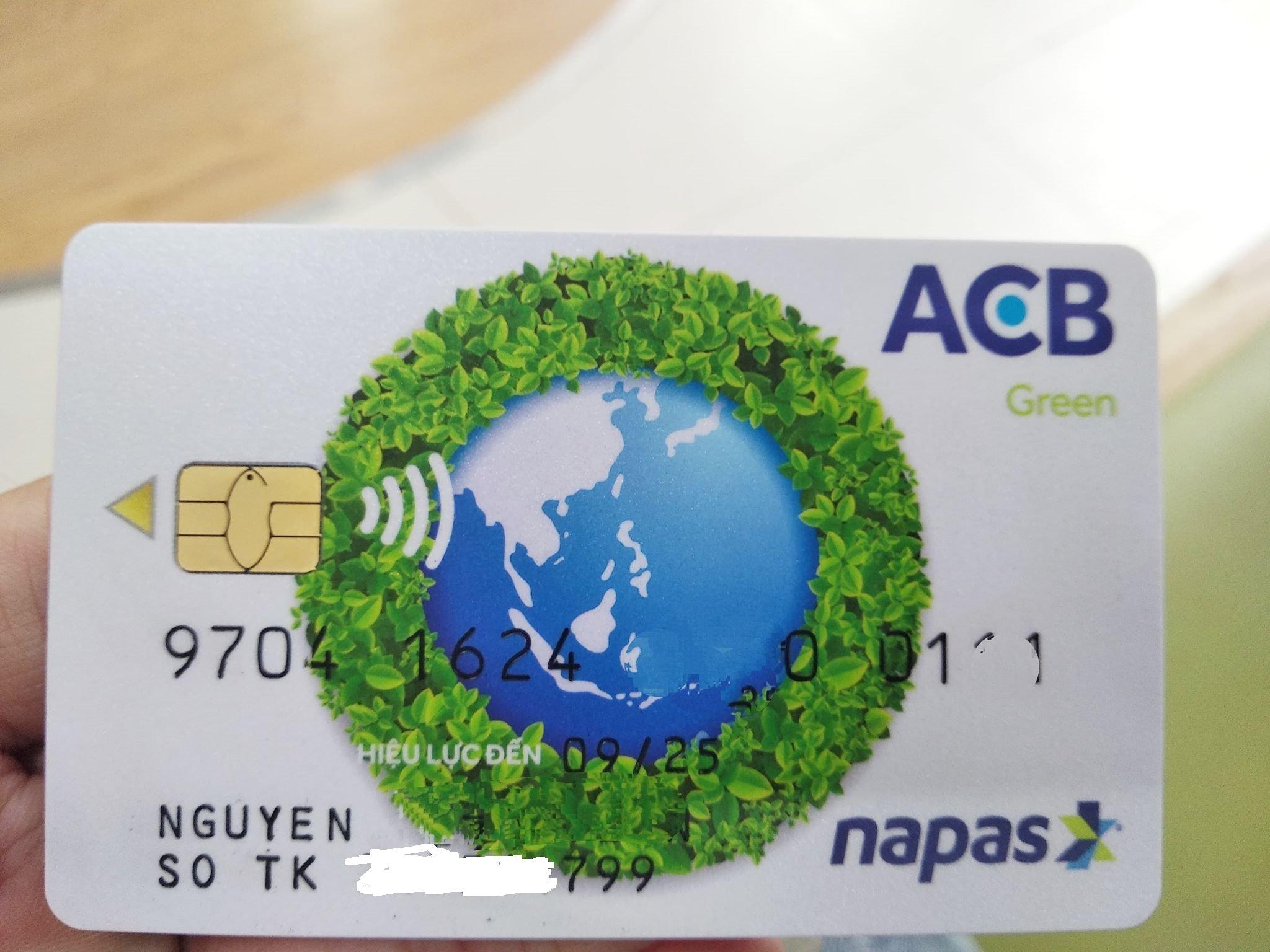 Số tài khoản ngân hàng ACB