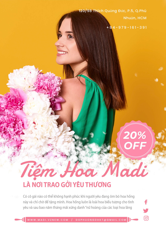 Tiệm Hoa Madi
