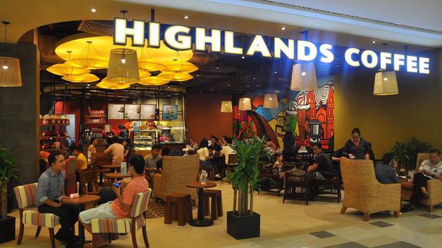 Highlands Coffee 12 thương hiệu Việt Nam bán cho nước ngoài.