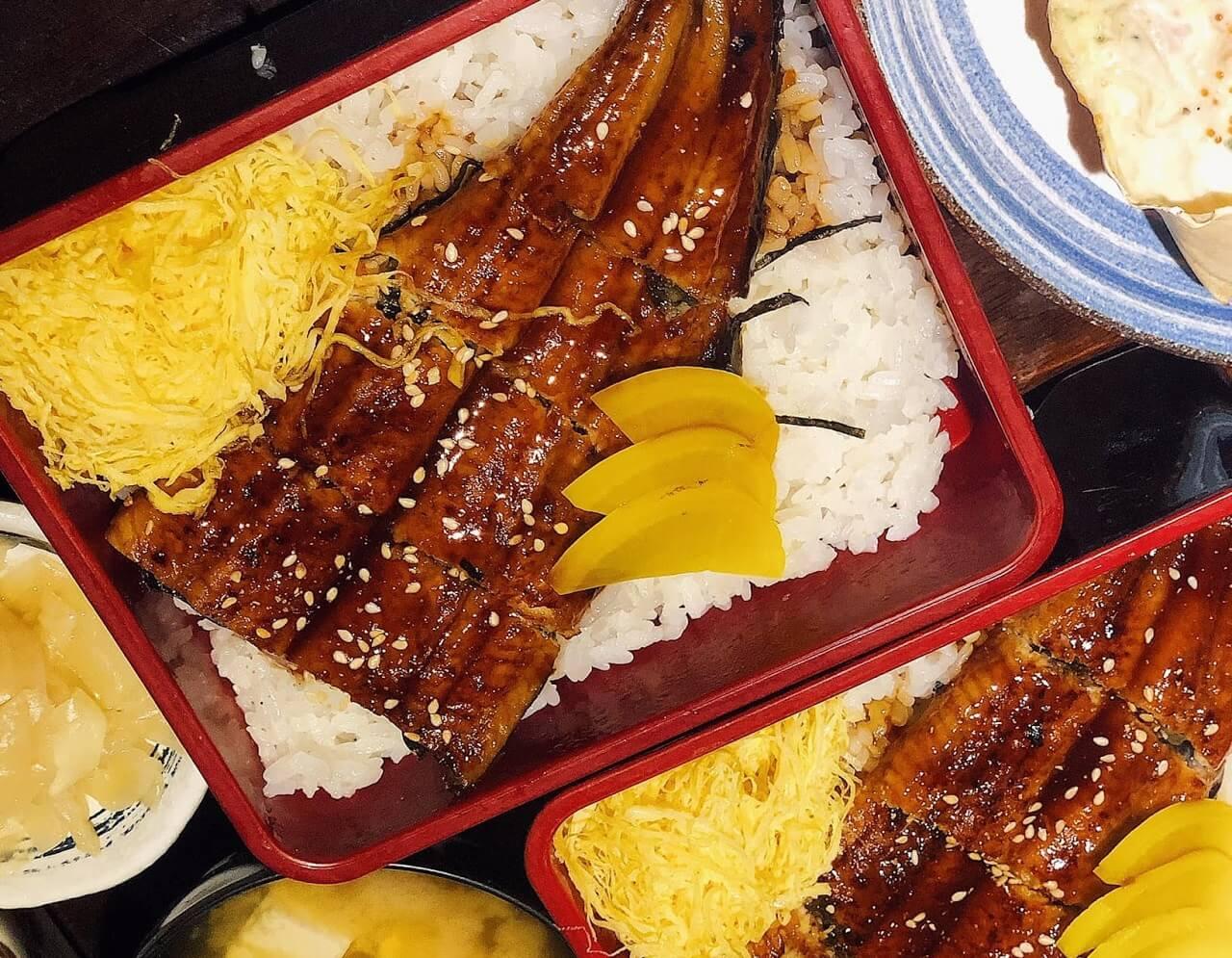Cơm lươn Nhật Bản nướng sốt teriyaki