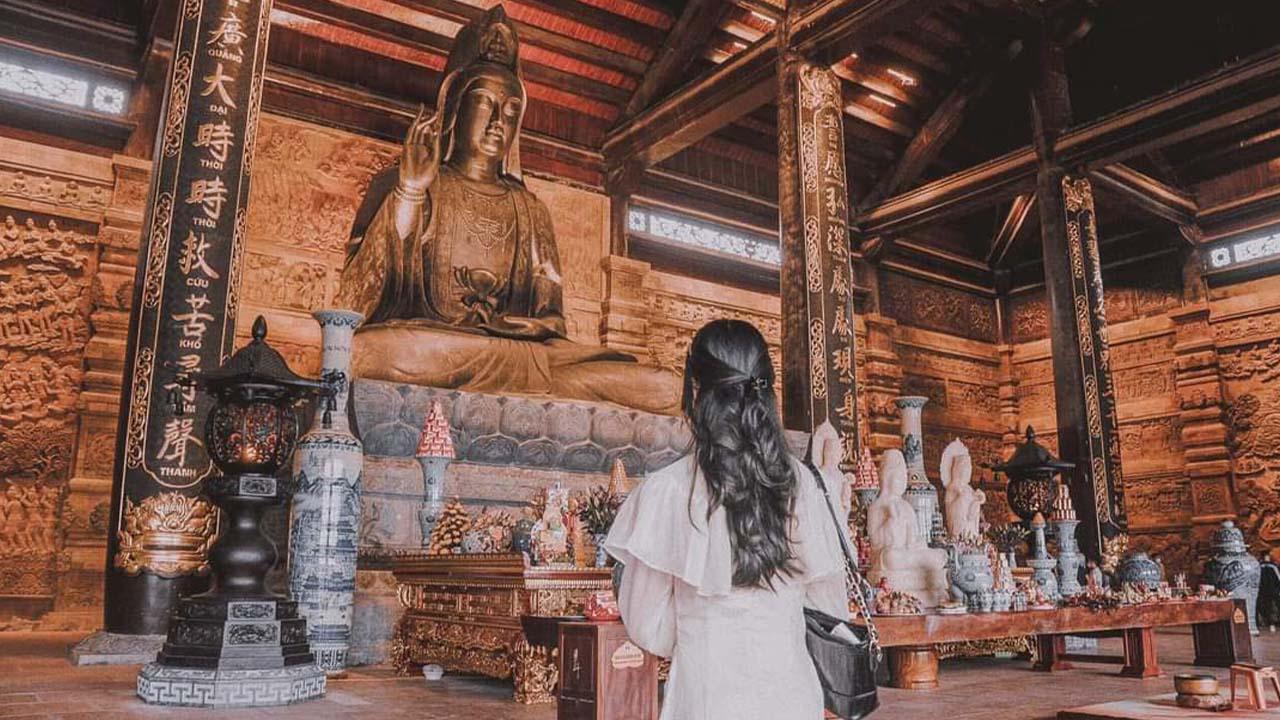 Điện quan âm chùa Tam Chúc