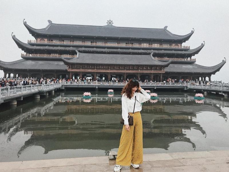 Nhà khách Thủy Đình chùa Tam Chúc