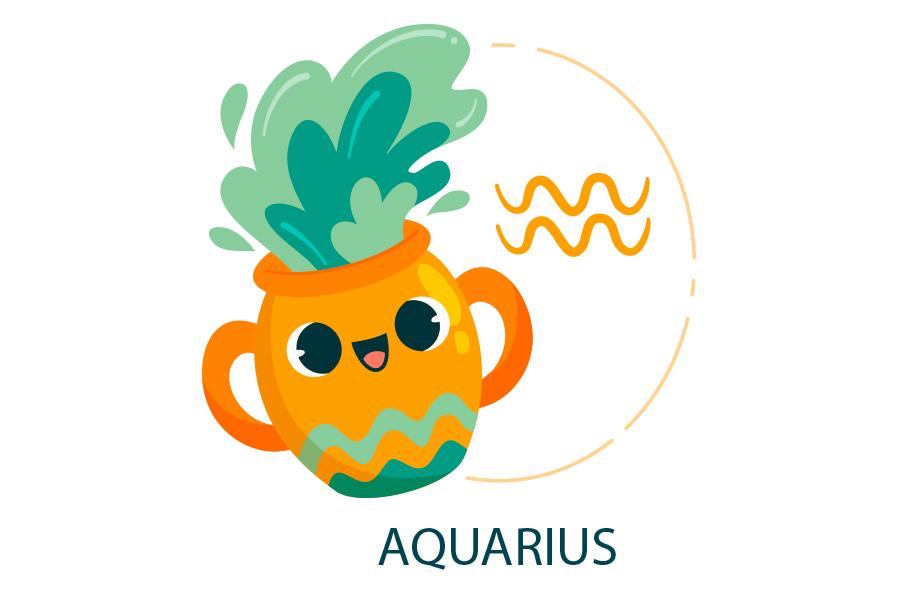 Biểu tượng AQUARIUS Bảo Bình