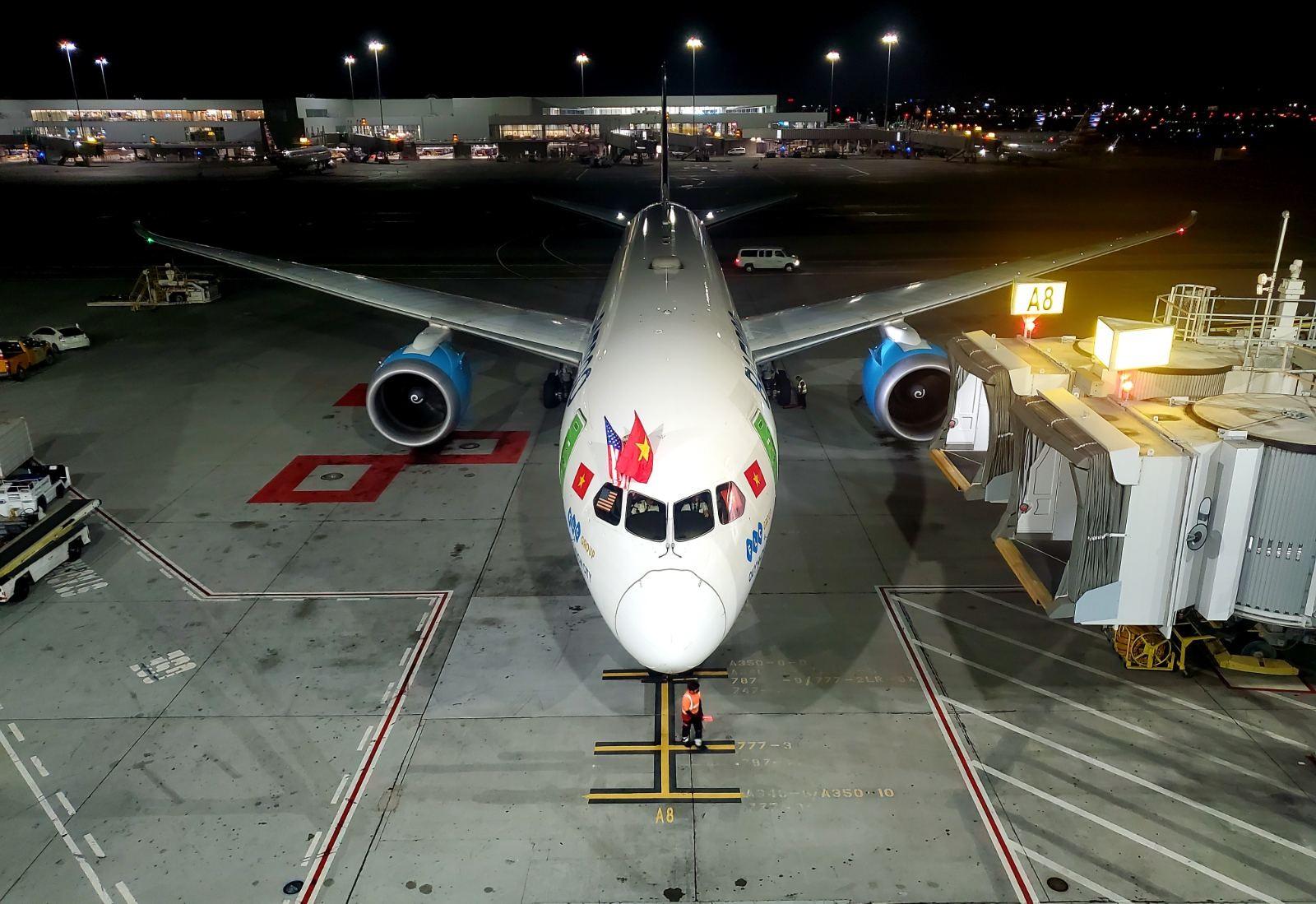 Bamboo Airways mở đường bay đến mỹ